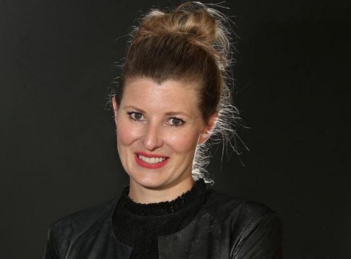 Head shot of Sarah Albon